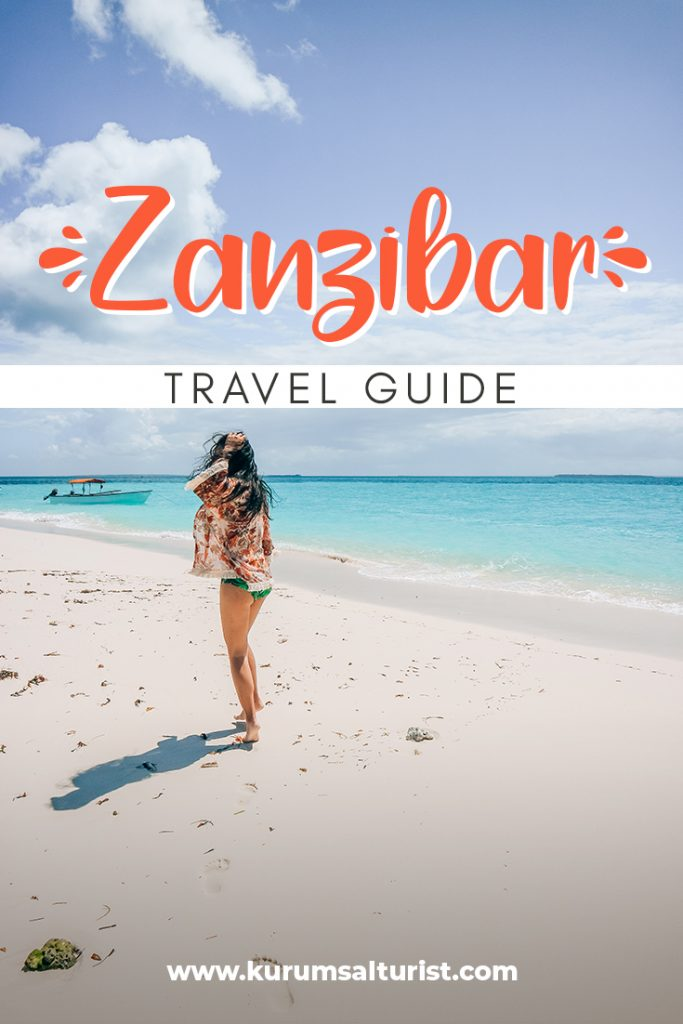 Ultimate Zanzibar Travel Guide white sand beach